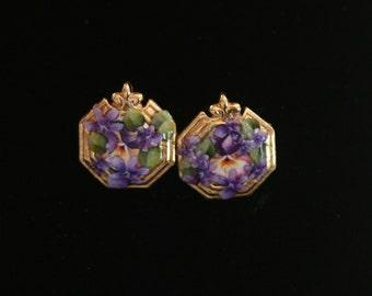 Bridal Earrings, handmade With Vintage Jewelry, Vintage Wedding Jewelry, Vintage Earrings, Vintage Handmade Earrings, Pierced Earrings,