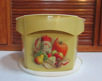 Blisscraft of Hollywood Lazy Susan Plastic Canister Set