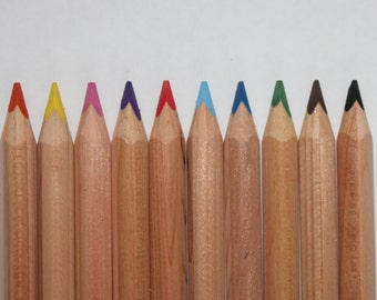 10 Jumbo Triangular Pencils