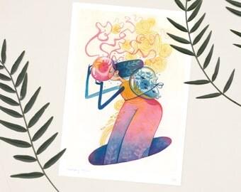 Memory Magic A4 Print