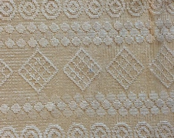 Pink Champagne Beige Lace Fabric