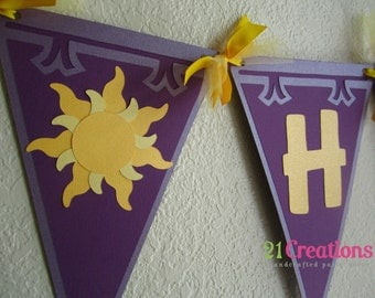 Tangled Sun Party Banner