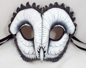 Ghost Owl Leather Mask