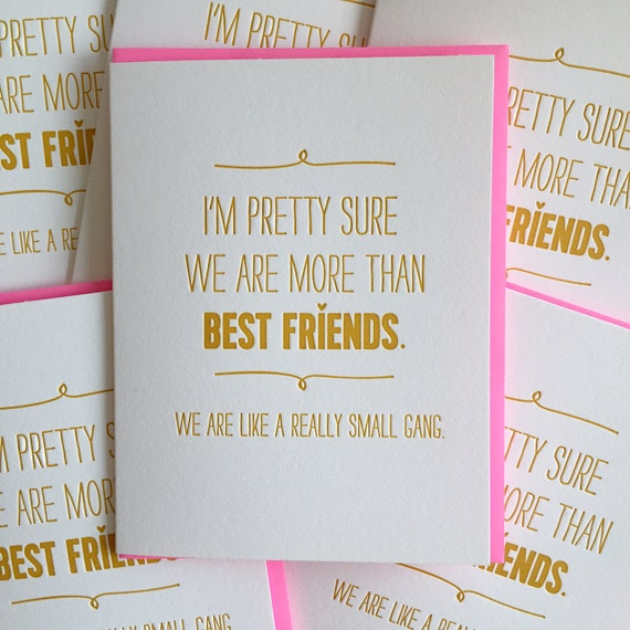 Best Friend Card Best Friend Birthday Card We are like a – A Birthday Card for a Best Friend