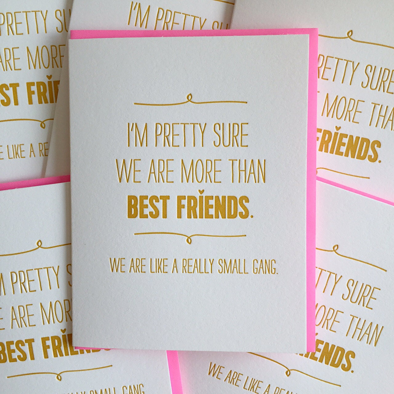 Best friend card birthday we are like a