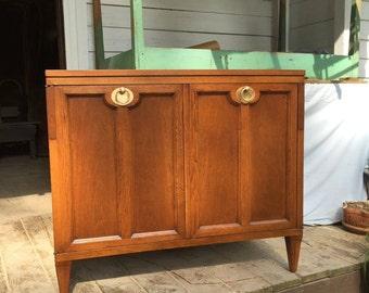 Walnut Cabinet TV Stand