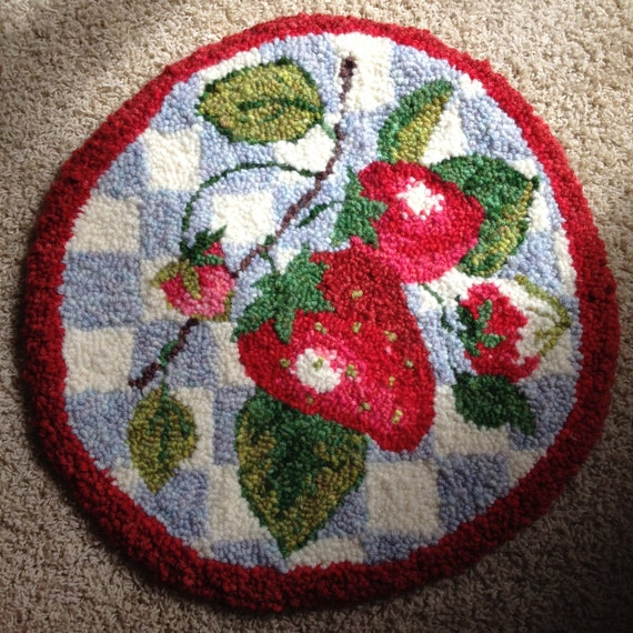 Strawberry Chair Pad