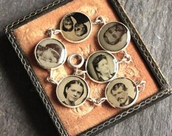 Bracelet, tintype, antique