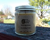 Small 4oz Straight Jar 100% Soy Candle. Choose Your Scent. Made To Order. Natural. Long Burning. Lead-Free. Eco-Friendly