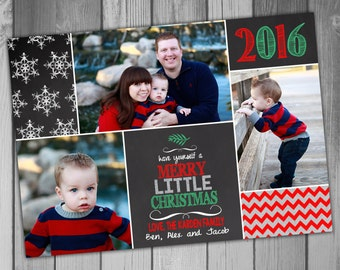 Christmas Photo Card Christmas Cards Family Christmas Cards Printable Personalized Christmas Card Holiday Photo Card Chalkboard Christmas