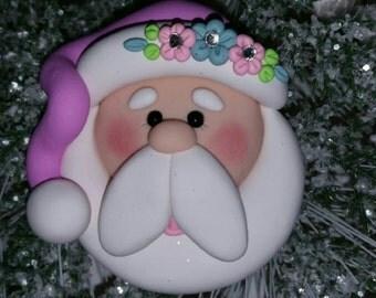 Super Cute Santa Ornament, Gift, Home Decor