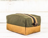 Dopp Kit | Olive + Honey
