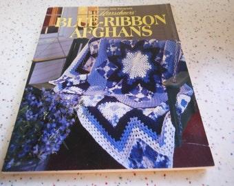Blue Ribbon Afghans crochet pattern book