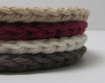 Cotton Face Scrubbies - set of 4