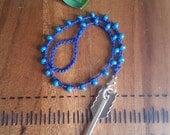 Pendulum - Divination - Dowsing - Sapphire Blue - Follow your Arrow - Pendulum - Handmade With Love