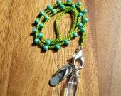 Quartz Crystal Pendulum - Should I go to the BEACH? pendulum - Divination - Dowsing - Turquoise - Metaphysical Tools - Shorenaments