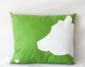 COW pillow - vegan inspired
