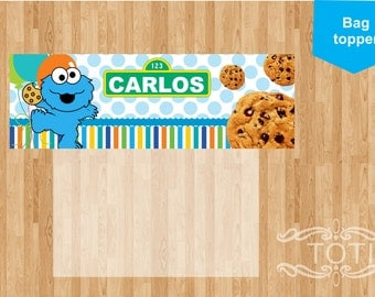 Cookie |  Treat Bag Toppers [DIGITAL FILE ONLY]