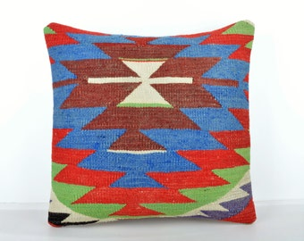 Kilim pillow cover, kp1512, Kilim Pillow, Turkish Pillow, Kilim Cushions, Kilim, Moroccan Pillow, Bohemian Pillow, Turkish Kilim