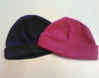 Set of 2 Newborn Skull Caps