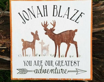 You are our greatest adventure. Custom Name