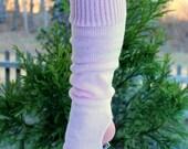 Child Stirrup Lt Pink Leg Warmer