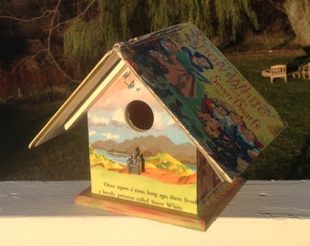 """The """"Snow White and the Seven Dwarfs"""" Birdhouse"""