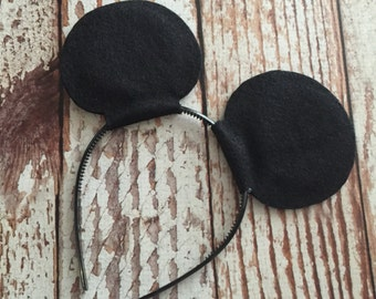 Mickey Mouse Ears - Birthday Party Favors - Disney Vacation - Costume Accessory - READY TO SHIP