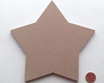 "Mosaic Base Form SMALL STAR 1/4"" MDF"