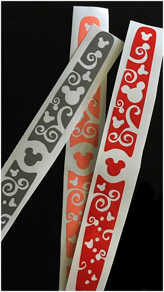 disney magic band decal by jjpetuniadesigns on etsy. Black Bedroom Furniture Sets. Home Design Ideas