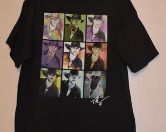 Tim McGraw Black Tee Shirt  100% cotton Size XL Made in the U.S.A.