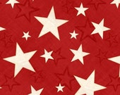 Wilmington Prints - We the People - Stars - Red