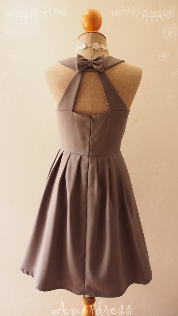 Items similar to Love Potion- Gray Vintage Prom Bridesmaid ...