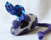 Organic Catnip Toy Mouse With Extra Refill - Purple Camo