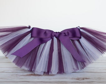 "Plum and lavender tutu ""Doc"" plum tutu purple girls tutu photo prop purple birthday tutu skirt size 5 6 7 8 10 12 dance tutu for girls"