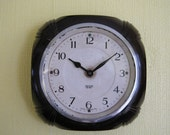 Bakelite Wall Clock - Smiths Sectric - Vintage Recycled Wall Clock