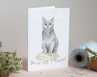 You're All I Knead Greetings Card