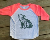 Sale baby 18-24 months  Wolfpup Vintage style baseball tee kids size