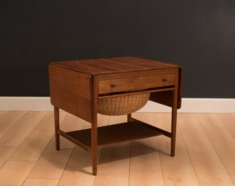 Danish Hans Wegner Sewing Table