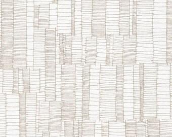 Doe - Ladder Lines in Ash - Carolyn Friedlander for Robert Kaufman- AFR-15026-290 - 1/2 Yard