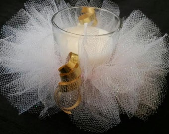 CANDLE TUTUS/10 for 25 dollars FREE Shipping Baby shower favors /Engagement/Gender reavealing party favors/Baby shower /Weddings