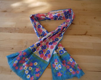 Vintage Floral Head Wrap
