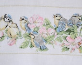 Finished / Completed Cross Stitch - Lanarte : Tomtit (33849) by Marjolein Bastin