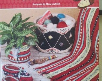 Pattern booklet Native American in Crochet used booklet indian designs  20 pages