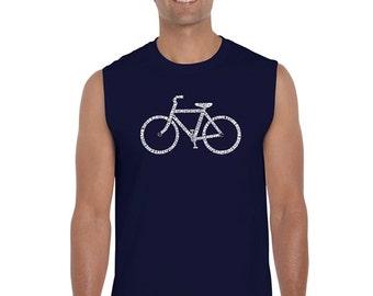 Men's Sleeveless Shirt - Save a Planet, Ride a Bike