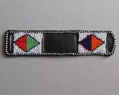 Maasai Beaded Watch Strap KWB3