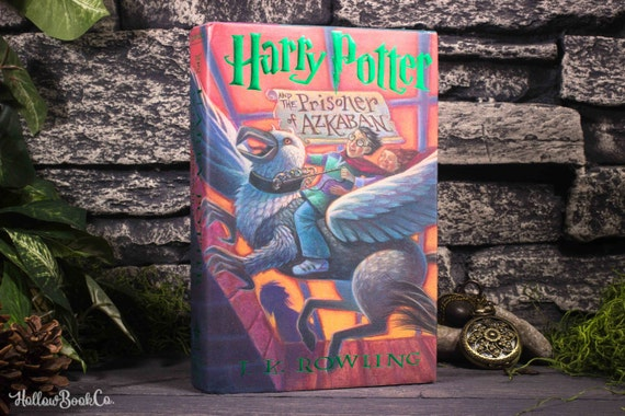 Hollow Book Safe - Harry Potter and The Prisoner of Azkaban - Book 3 - J.K. Rowling