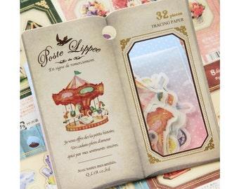Diary Scrapbook Sticker Label Pack Japan Q-LiA Carnival
