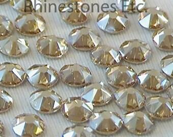 Golden Shadow 16ss Swarovski Elements Rhinestones Flat Back 36 pieces