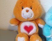 RESERVED        Tenderheart Bear, Vintage 80s Toy